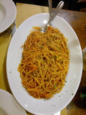 Osteria Al Bacco: spaghetti alla busara