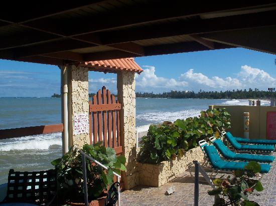 Hotel Yunque Mar: Yunque Mar Beach gate