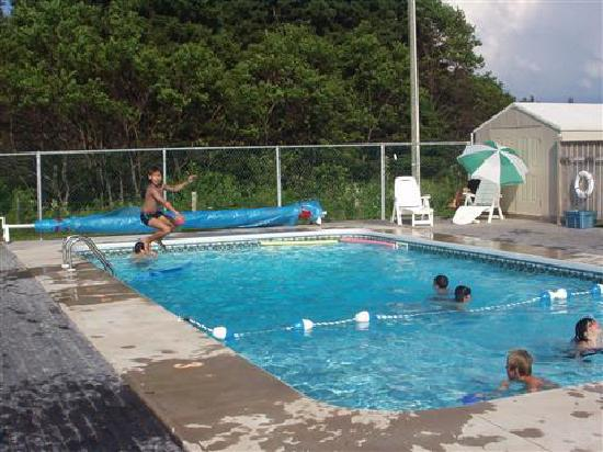 St. Lawrence Motel: Salt Water Pool