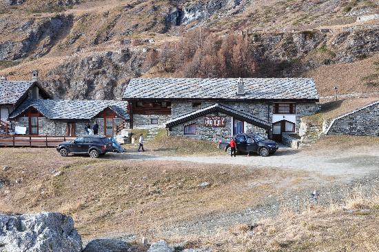 Hotel Baita Cretaz: la baita cretaz...direttamente sulle piste se c'è neve