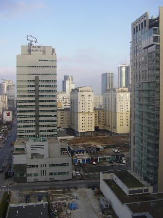 Hilton Warsaw Hotel & Convention Centre: City view