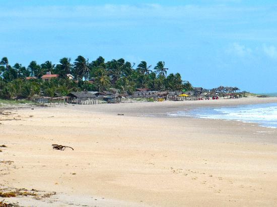 Baia da Traicao, PB: La plage