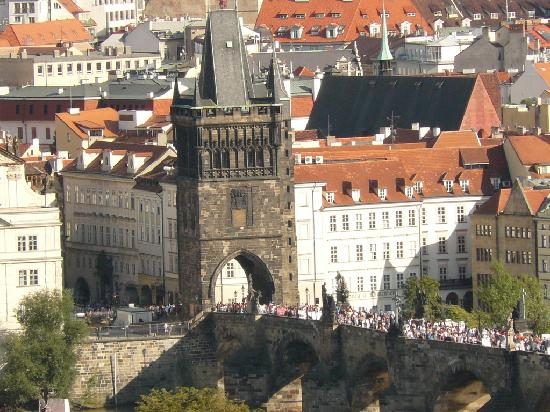 Old Town Bridge Tower-A view from the Castle District