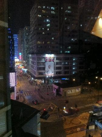 The Langham, Hong Kong: Ausblick andere Richtung