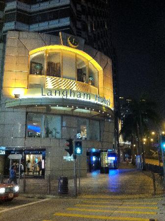 The Langham, Hong Kong: Eingang