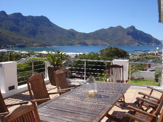 Hout Bay View: Terrace