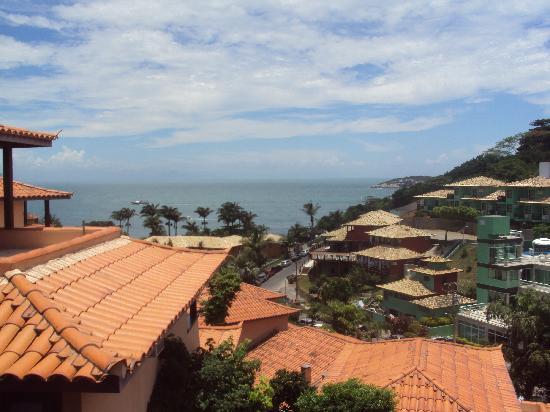 Hotel Pousada Aguazul: Vista desde la habitacion