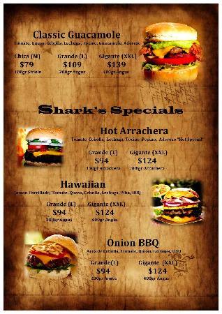 Shark Burgers: las hamburguesas 2