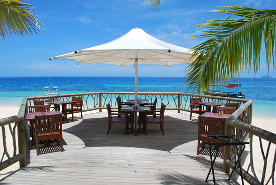 Castaway Island Fiji: main dining area