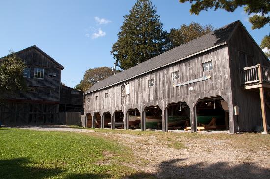 Maine Maritime Museum: eins der Gebäude