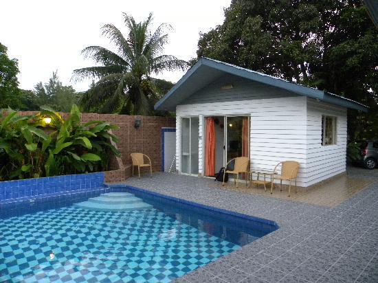 La Cuvette Hotel : Il nostro bungalow