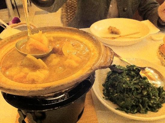 Golden Bull French Vietnamese Cuisine: <Curry von Meeresfrüchten