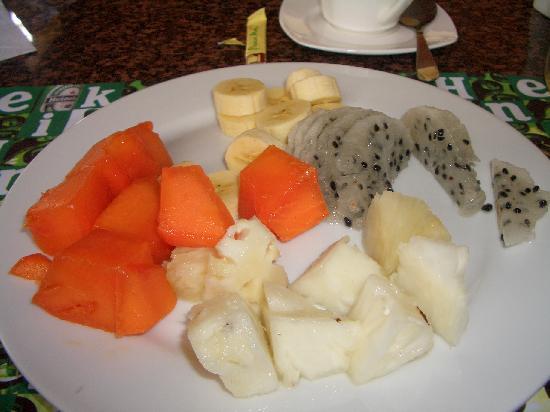 Hotel Amira in Salinas, Ecuador: breakfast