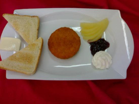 Restaurante Aleman: gebackener Camembert