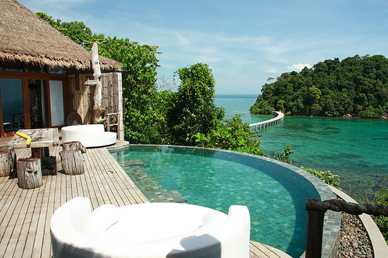 Song Saa Private Island: View from the jungle villa!