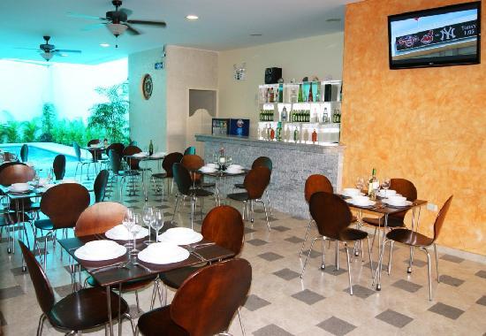 Hotel Marvento Salinas area social