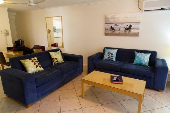 Portobello By The Sea: Living area