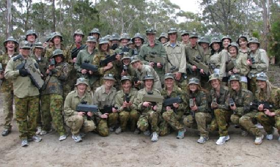Tas Laser Skirmish: School Groups