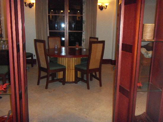 La Beliza Resort: Dining room of sunfish 205