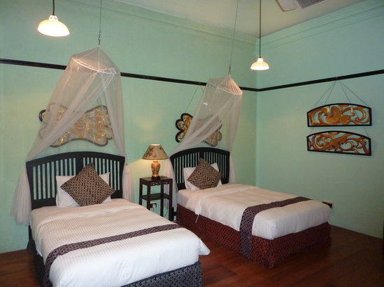 Cheong Fatt Tze - The Blue Mansion : Our twin room