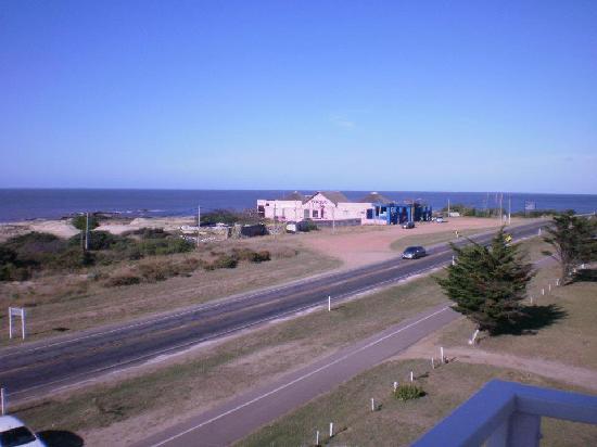 Hotel Playa Grande: Vista desde el balcón