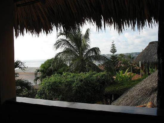 Casa de Dan: view from the dining room