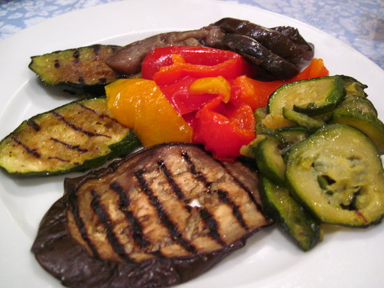 Ristorante Al Giardinetto da Severino: grilled veggies