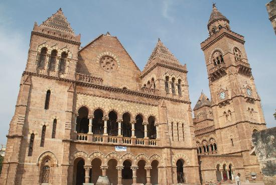 prag mehal and bell tower picture of aina mahal bhuj tripadvisor