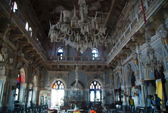 Aina Mahal: Prag mehal's main hall