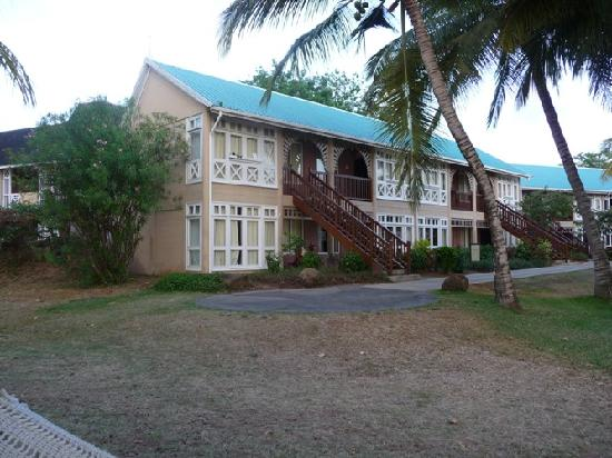 Club Med La Pointe aux Canonniers: Photo of the outside of our room
