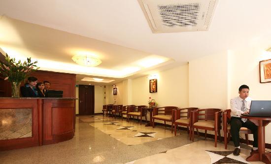 Hanoi Charming 2 Hotel : lobby