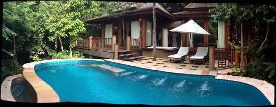 Santhiya Koh Phangan Resort & Spa: Our hideaway Villa