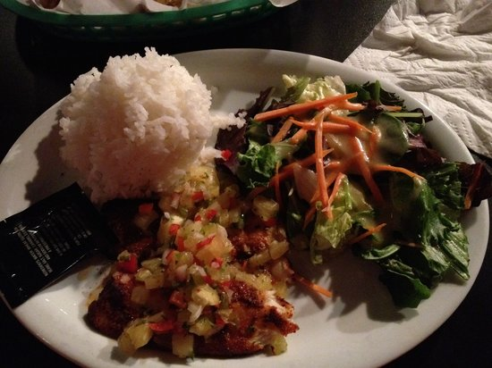 Red Lion Bar & Grill: Cajun Fish