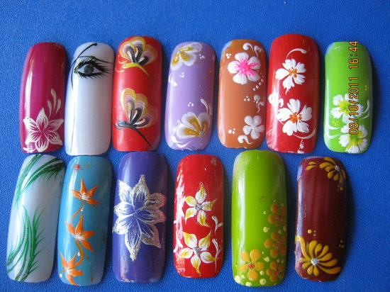 Individual Nail Art Picture Of Phuoc Lavender Spa Hoi An