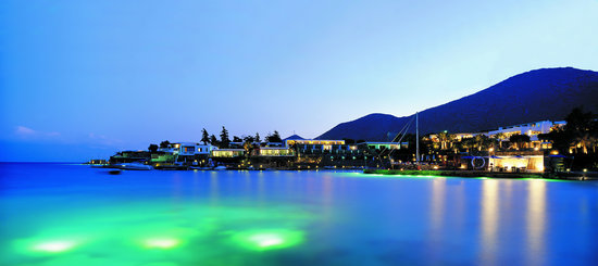 Elounda Bay Palace: Elounda Bay by Night
