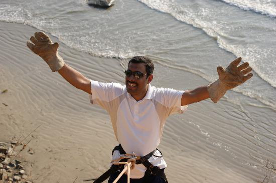 Sai Vishram Byndoor: Rappelling off 125 m cliff !