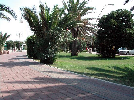 Hotel La Sirenetta: il lungomare davanti l'hotel