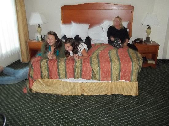 Homewood Suites by Hilton Ontario-Rancho Cucamonga: Wife and grandkids