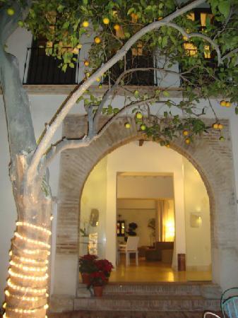 Balcon de Cordoba : Entrada y patio del hotel