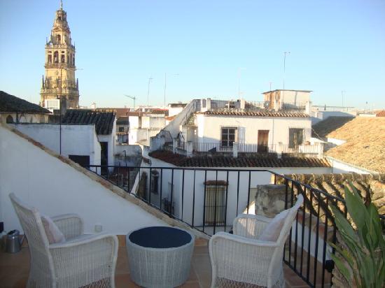 Balcon de Cordoba: terraza de la hab. No 6