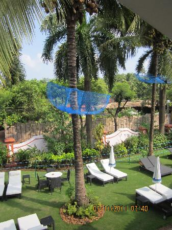 Cansaulim, India: View from our room