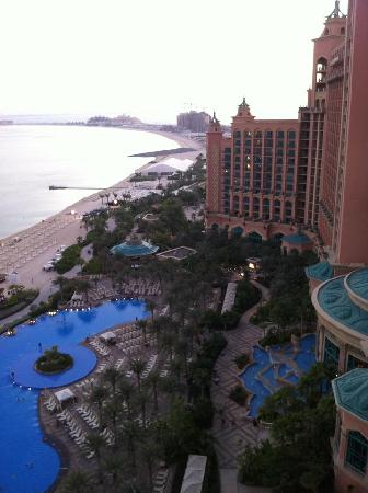 Atlantis, The Palm : The view from our room