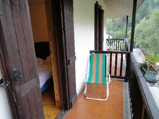 Hotel Aigle: ベランダ