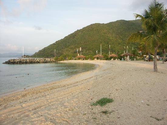 Nanny Cay Marina & Hotel: Nanny Cay Beach
