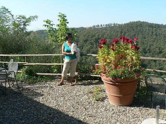 Agriturismo San Lorenzo: ammiro un paesaggio stupendo