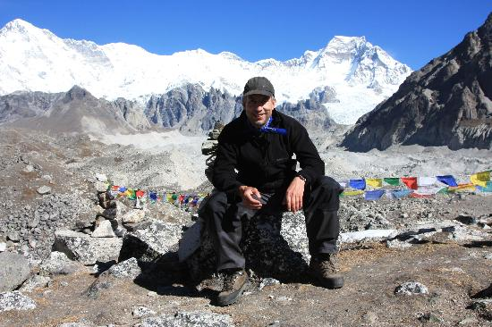 Blue Oyster B&B: Wolfgang on the Everest Base Camp trek in 2010
