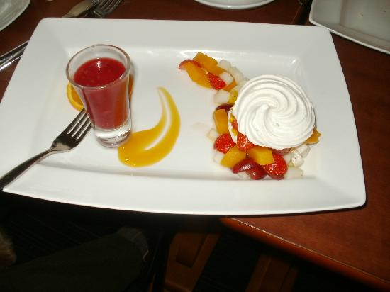 Murraypark Hotel: sumptuous non diary food