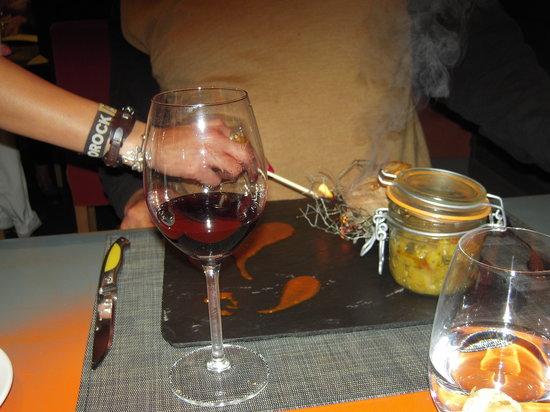 Le Quatre Saisons : Lamb with herbs
