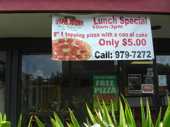 more about Papa Johns $5 Dollars pizza locations here: