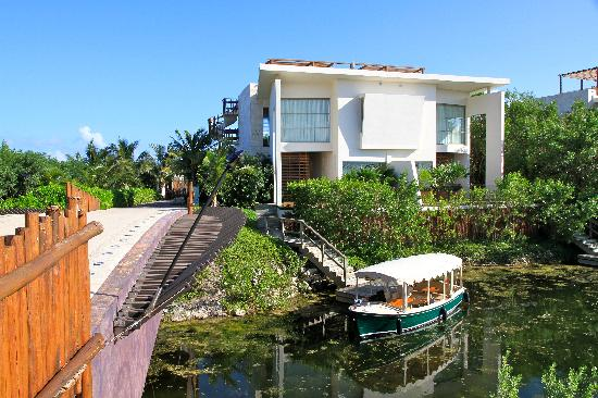 Rosewood Mayakoba: Rear Exterior w/ Private Dock